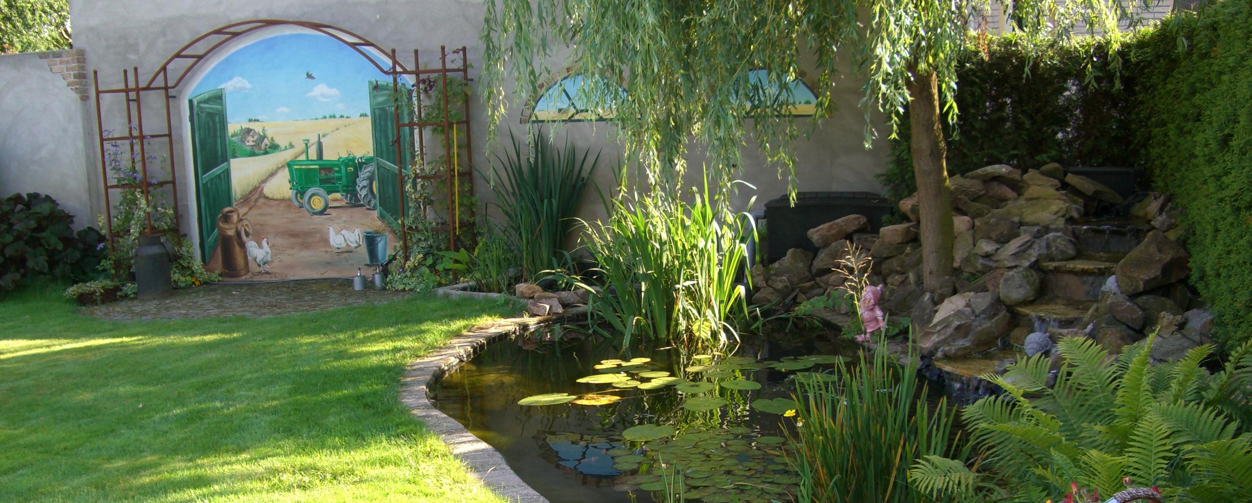 Klant 16 landscaping parkstad - Creeren van een tuin allee ...